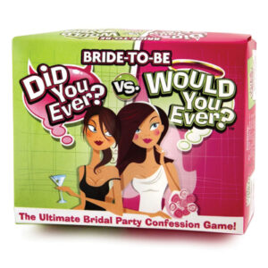 Bride to Be: Did You Ever? Would You Ever? Game at Belle Lacet Lingerie.