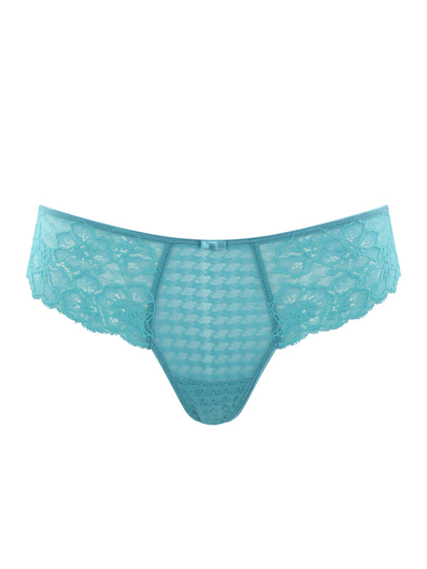 Panache Envy Thong in Ultra Marine at Belle Lacet Lingerie.