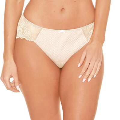 SERENA Bikini with Lace from Fit Fully Yours at Belle Lacet Lingerie.